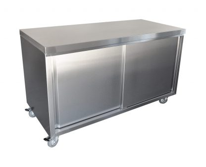 Stainless Steel Cabinet, 1500 x 700 x 900mm high.