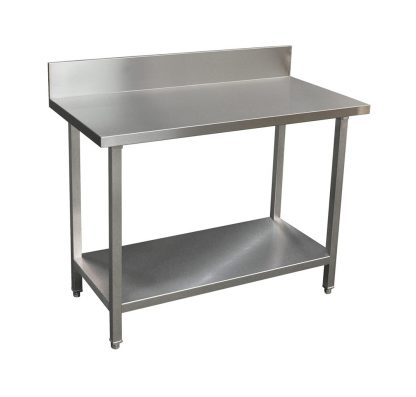 Premium Stainless Bench with Splashback (1200 X 610)-0