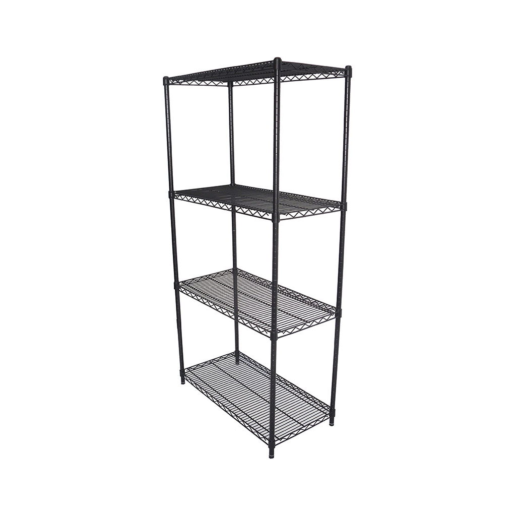Epoxy Wire Coolroom Shelving, 4 Tier, 762 X 457 deep x 1800mm high