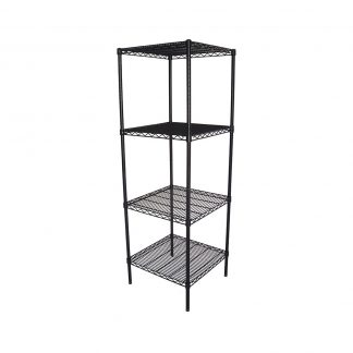 Epoxy Wire Coolroom Racking, 4 Tier, 610 X 610 deep x 1800mm high-0