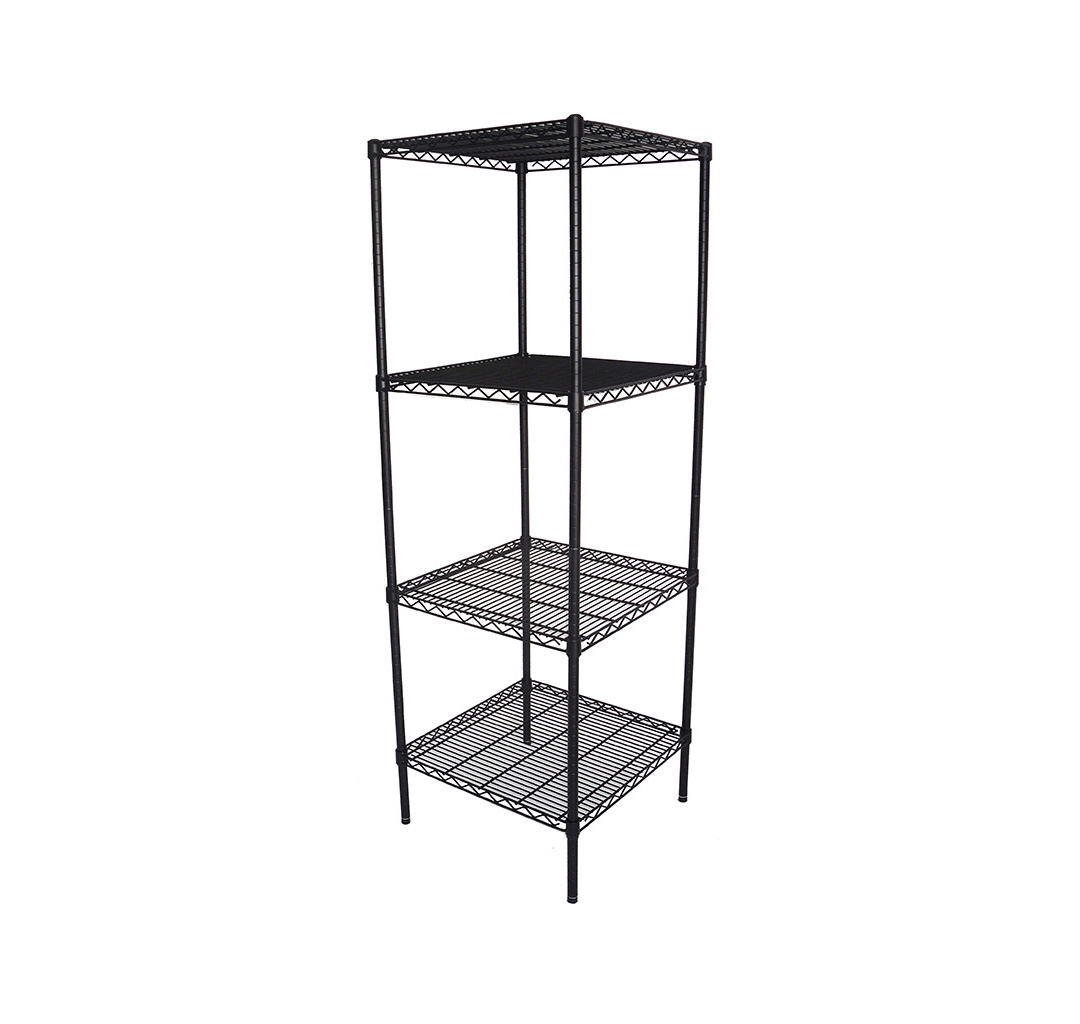 Epoxy Wire Coolroom Shelving, 4 Tier, 610 X 610 deep x 1800mm high