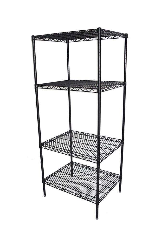 Epoxy Wire Coolroom Shelf 4 Tier, 762 X 610 deep x 1800mm high-0