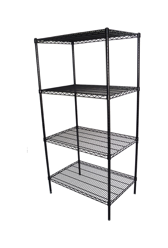 Epoxy Wire Coolroom Shelving, 4 Tier, 914 X 610 deep x 1800mm high