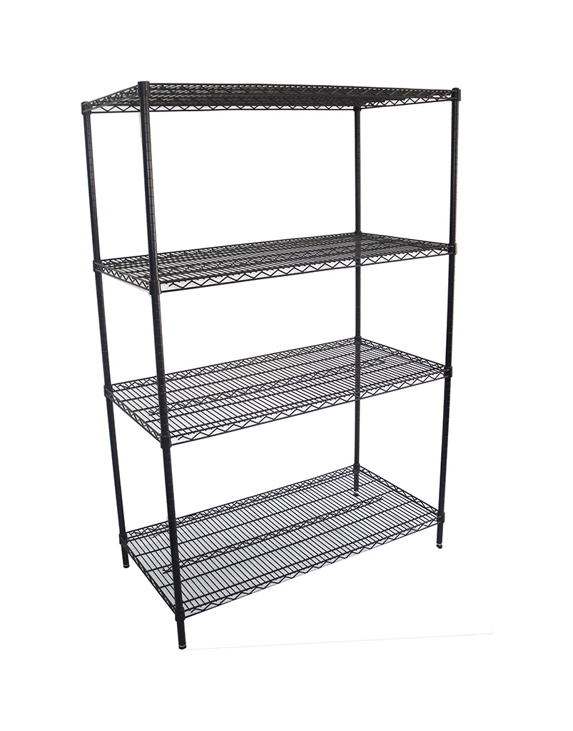 Epoxy Wire Coolroom Shelving, 4 Tier, 1219 X 610 deep x 1800mm high