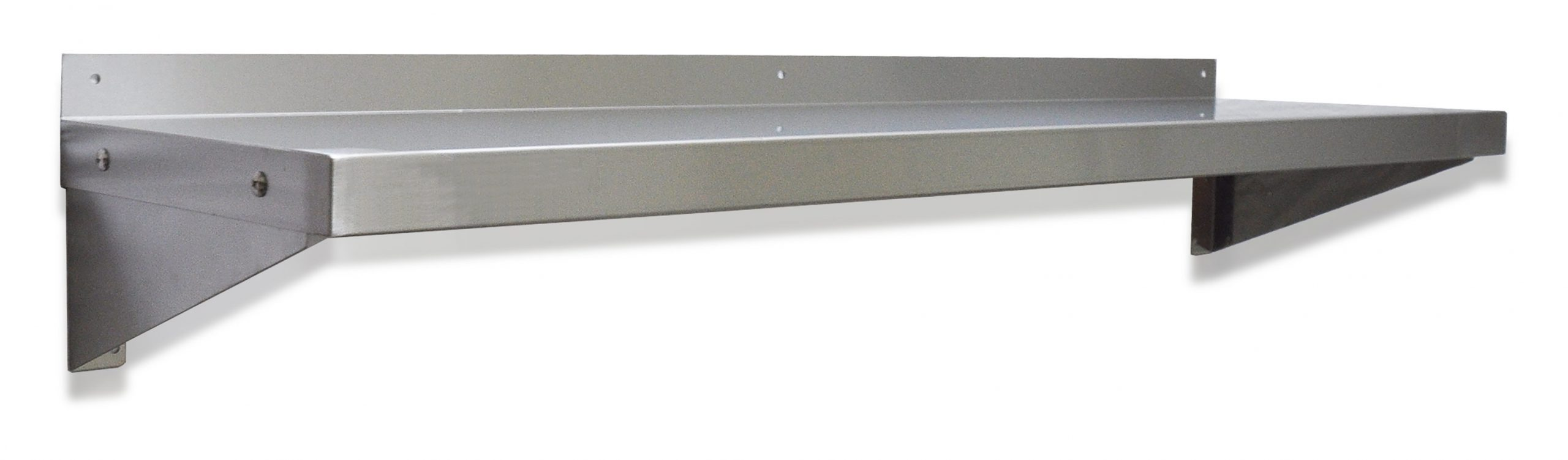 Stainless Steel Wall Shelves, 1200 X 300mm deep.