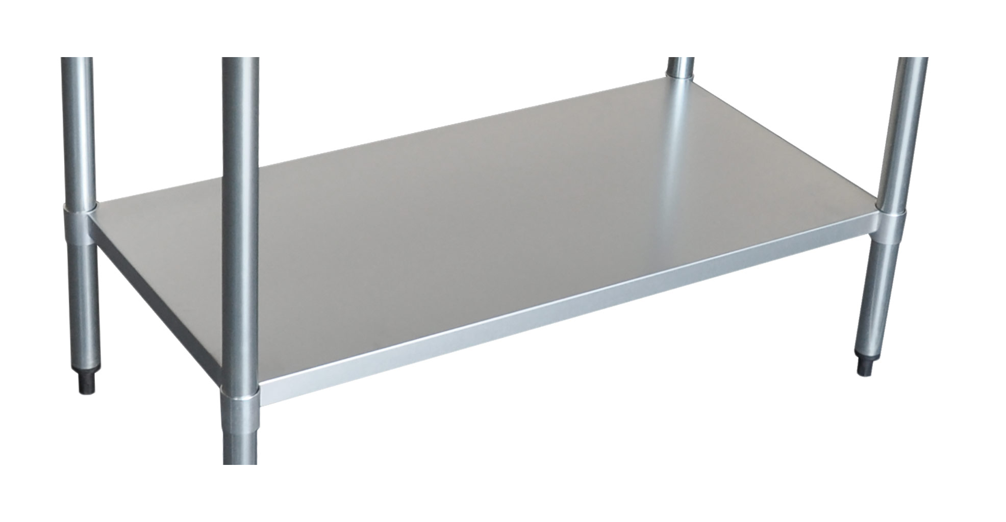 Stainless Undershelf for 2436 Bench