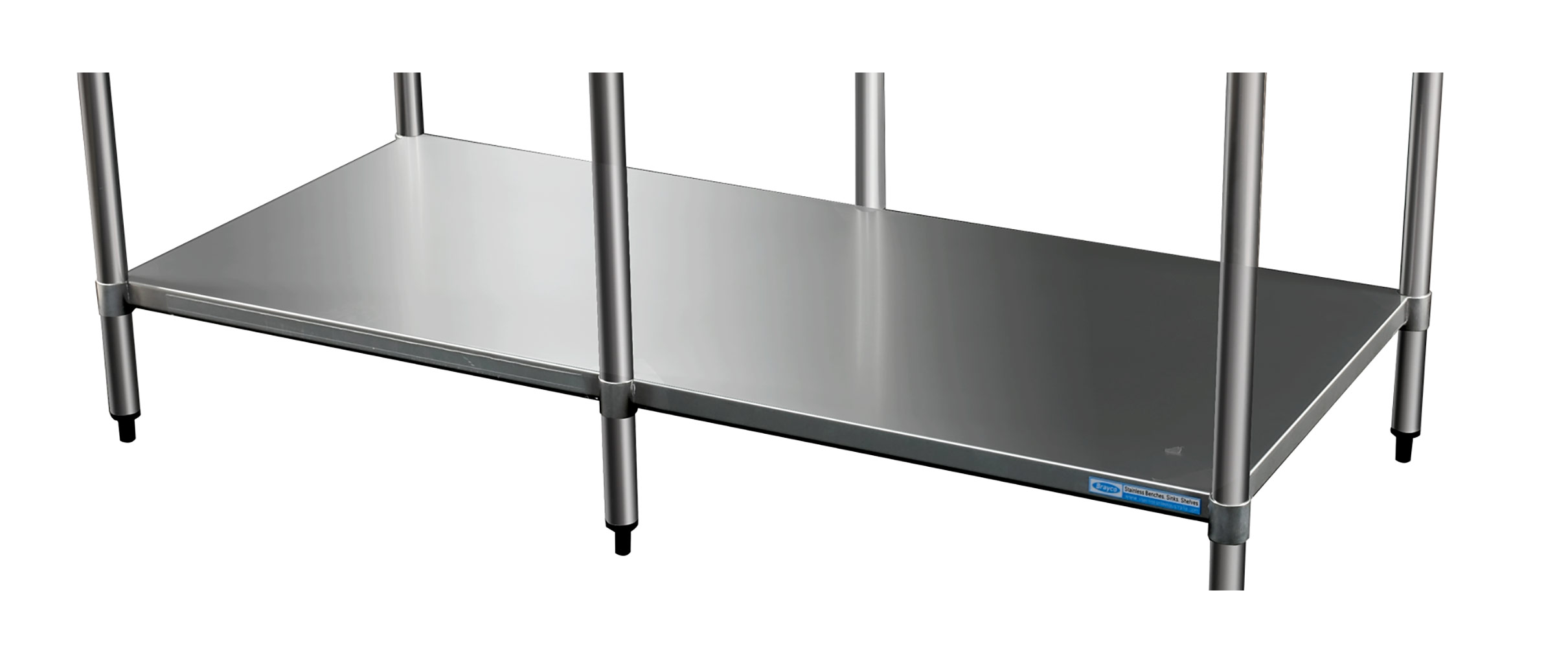 Stainless Undershelf for 3672 Bench