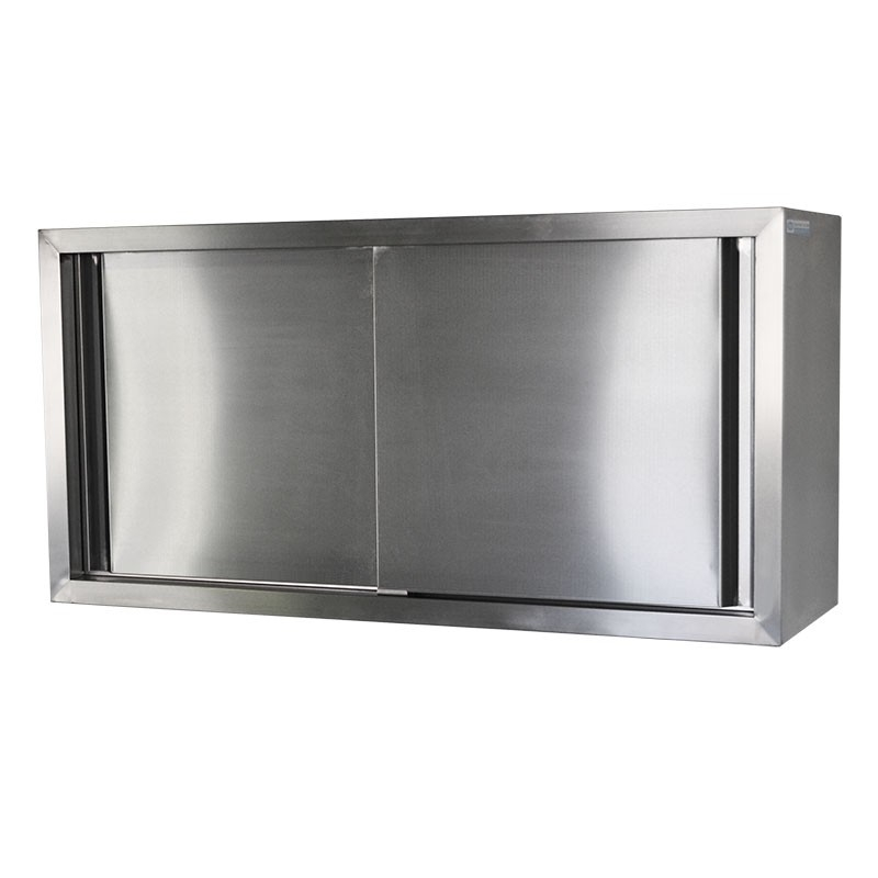 Stainless Wall Cabinet, 900 x 380 x 600mm high