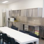 Stainless Steel Commercial Kitchen Wall Cabinet, 1200 x 380 x 600mm high.